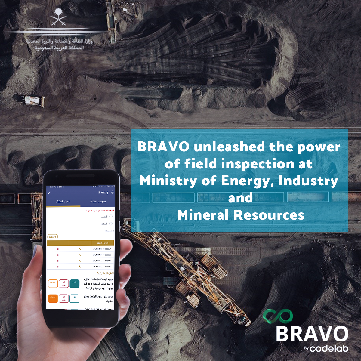 BRAVO unleashed the power of field inspection at MIEM